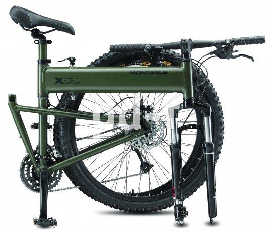 Falträder werden auch mit größeren Laufrädern angeboten. Auch geländegängige Varianten sind erhältlich.
