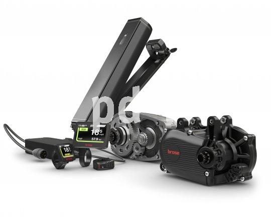 """E-Bike-Antriebshersteller Brose bringt mit dem """"Brose Drive System"""" ein Kommplettsystem aus Akku, Antrieb und Display auf den Markt. Abnehmer sind vor allem die Hersteller von E-Bikes."""