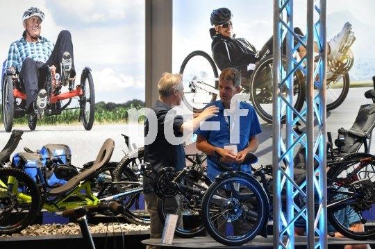Die Eurobike bietet Zeit und Raum für ausführliche Fachgespräche.