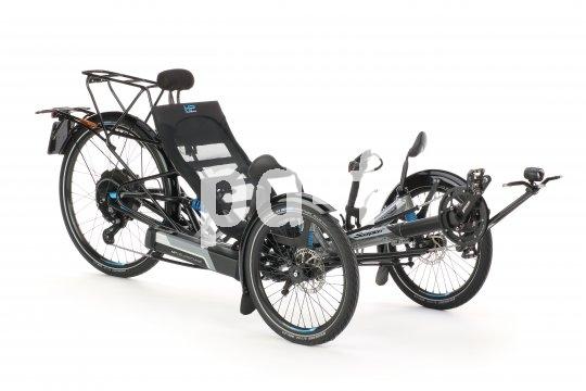 Neben aller Technik ist der Sitz mit seiner großen Kontaktfläche zum Fahrer der entscheidende Wohlfühlfaktor bei einem Liege-Trike.