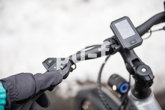 Im Winterhalbjahr zahlt es sich aus, wenn die Eingabeelemente der Fahrradelektrik auch mit Handschuhen zu bedienen sind.