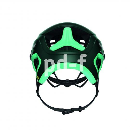 Die heruntergezogene Nackenpartie dieses Offroad-Helms sorgt für eine besonders hohe Schutzwirkung. Seine glatten Flächen erleichtern nicht nur die Reinigung, sondern sind auch sehr aerodynamisch.