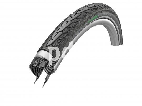 Ein Reifen mit speziellem Pannenschutz ist der Road Cruiser Plus von Hersteller Schwalbe. Eine 3 mm starke Einlage schützt gegen Durchstiche.