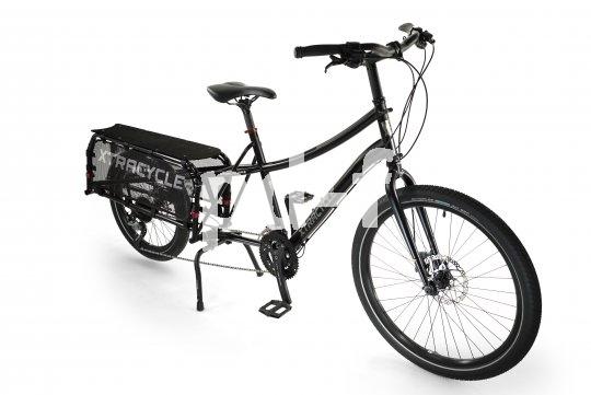 Im Bereich Lastenräder werden sogenannte Longtails immer beliebter. Der verlängerte Hinterbau erlaubt viel Zuladung, das Rad bleibt trotzdem sparsam beim Platzbedarf.
