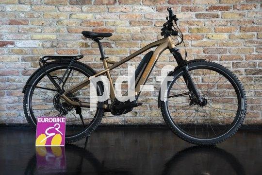 """Als """"Crossover""""-E-Bike kommt das Modell """"Goroc 2"""" des schweizerischen Herstellers Flyer daher. Für Alltag wie für Touren gleichermaßen geeignet und ab Anfang 2020 im Handel."""