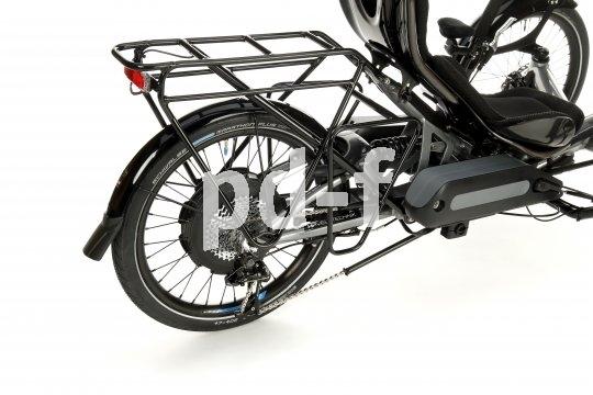 Ganz schön viel Technik, aber ein elektrisch unterstütztes Liegedreirad ist auch ein ungemein leistungsfähiges Fahrzeug.