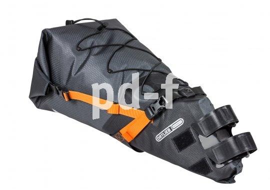 Die Satteltasche im XL-Format lässt sich sicher und stabil befestigen und ist mit ihrem großen Volumen eine sehr gute Alternative zur herkömmlichen Packtasche für den Gepäckträger.