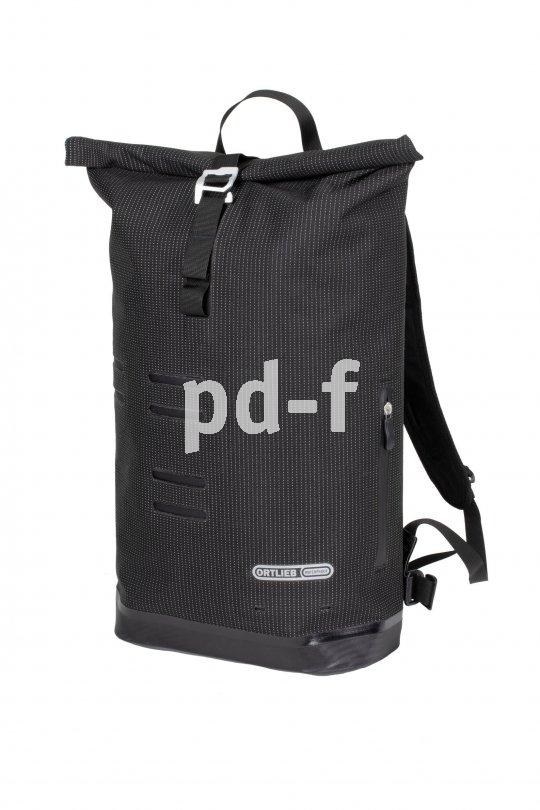 """Ein wasserdichtes Daypack speziell für Pendler bietet Ortlieb mit dem """"Cummuter Daypack"""" an. Es hat ein bequemes Tragesystem, einen verstärkten Boden und ein gepolstertes Laptopfach."""