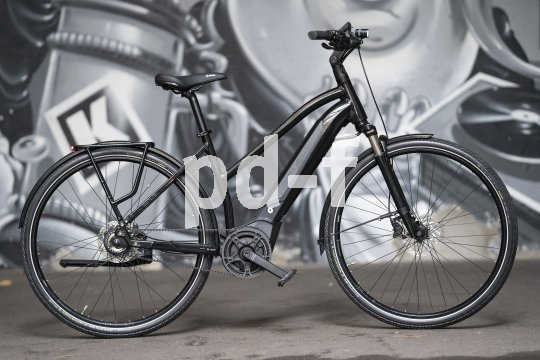 """Ein Stadtrad mit E-Unterstützung, aufrechter Sitzposition und Rücktrittbremse ist das """"Sinus iR8"""" von Hersteller Winora. Dieses Citybike-Konzept ist besonders bei der Generation 50+ beliebt."""