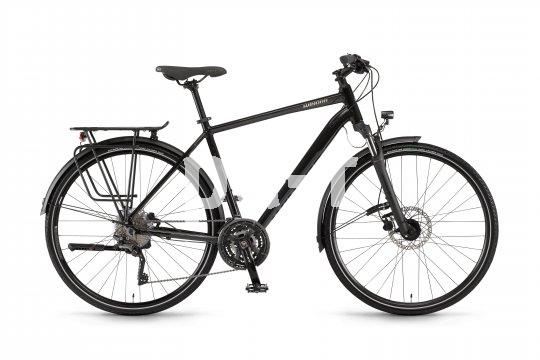 Klassische Fahrradmodelle ohne E-Unterstützung für den Alltag und kleine Touren sind unverändert stark gefragt. Hier das Modell Domingo der Marke Winora mit Scheibenbremsen, Federgabel, Gepäckträger, Schutzblechen, Lichtanlage.