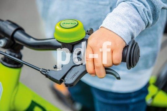 Die beste Bremse am Kinderrad nützt nichts, wenn die hebel zu groß zum Greifen sind. So passt es perfekt.