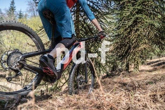 E-Bike-Antriebsspezialist Brose bietet jeweils optimal konfigurierte Antriebe für unterschiedliche Einsatzbereiche. Hier ein Mountainbike mit einem Motor in einem Magnesiumgehäuse.