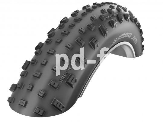 Der Fatbike-Reifen holt seine Traktion aus der unglaublich großen Aufstandsfläche, daher kommt er auch mit einem offenen Profil sehr gut klar.