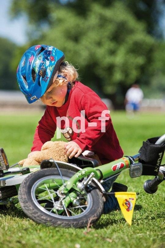 Für Kinder ist das Fahrrad in erster Linie ein Spielzeug. Also bitte nicht aufregen, wenn es mal grob angefasst wird - so wie alle anderen Spielzeuge auch.