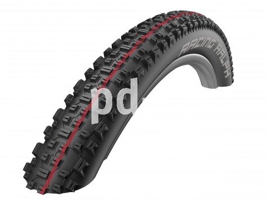 """Bei den aktuellen MTB-Reifen von Schwalbe stehen farbige Linien für die unterschiedlichen """"Addix""""- Gummimischungen von extrem griffig bis superschnell. Rot steht für """"Speed"""": Minimaler Rollwiderstand bei sehr guter Haftung im Gelände und großer Stabilität."""