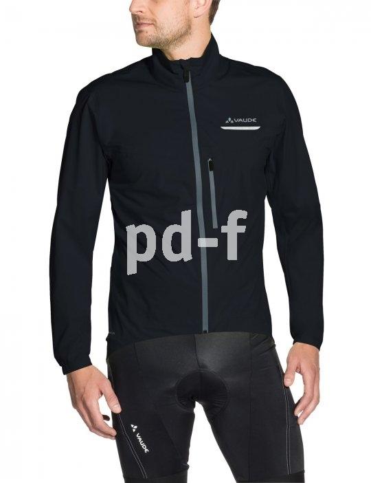 """Jacken, die Wind und Wetter trotzen, sind bei Radtouren in der kalten Jahreszeit ein echter Komfortgewinn. Das """"Men´s Strone Jacket"""" von Vaude hat eine Membran aus recyeltem Material."""
