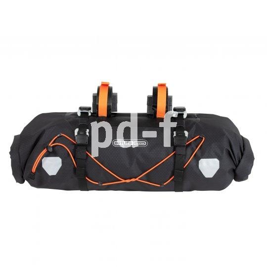 Die Gepäckunterbringung am Lenker ist mit einer solchen Tasche prima zu machen. Wichtig ist, dass keine Lenk-, Brems- oder Schaltfunktionen behindert werden.