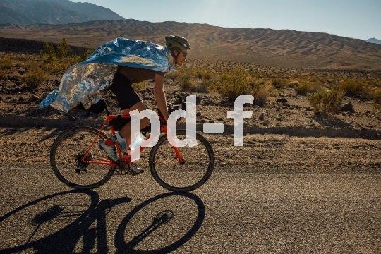 Mit dem Gravel-Bike ist auch jenseits des Asphalts zügiges Kilometerfressen machbar. Man kommt also weit herum, wenn die Kondition reicht.