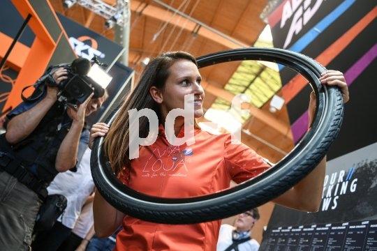 Neben Fahrrädern werden zur Eurobike auch die neuesten Zubehörartikel und Komponenten präsentiert.