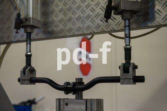 Lenker im Dauertest. Hersteller Puky setzt auf Qualität und Qualitätskontrolle - immerhin gibt man eine Produktgarantie von fünf Jahren.