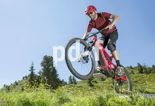 E-Bike-Antriebsspezialist Brose bietet jeweils optimal konfigurierte Antriebe für unterschiedliche Einsatzbereiche. Hier ein Mountainbike mit Brose-Antriebsunterstützung.