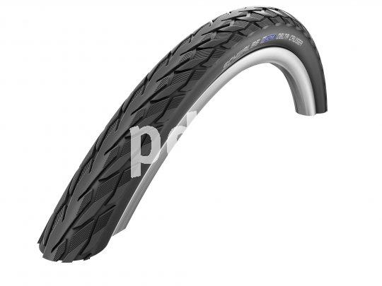 Auch für E-Bikes bis 25 km/h ist dieser solide Tourenreifen geeignet. Verfügbar ist er in diversen Größen und unterschiedlichen Farbvarianten.