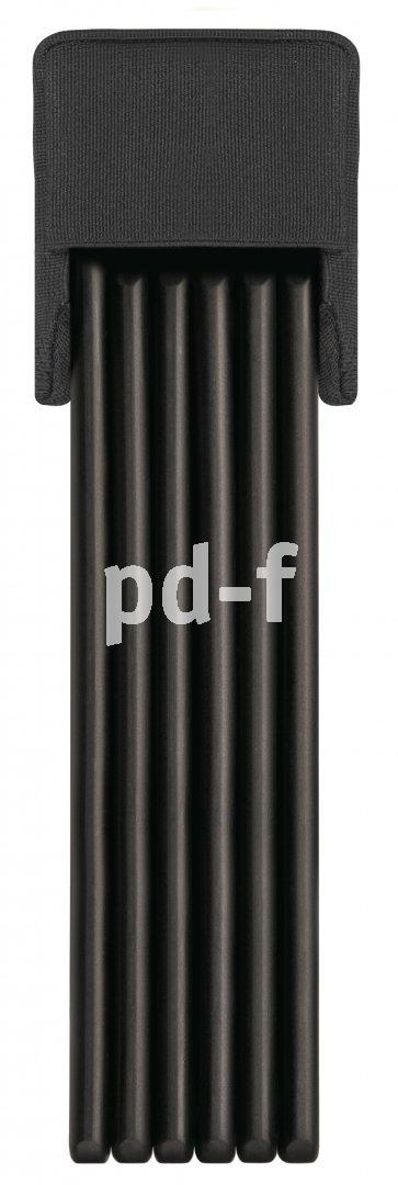 Faltschlösser verbinden sie Sicherheit eines Bügelschlosses mit der Flexibilität eines Kabelschlosses.