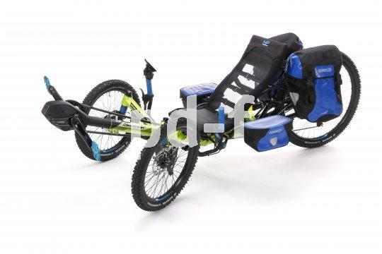 """Ein Lastesel auf drei Rädern ist das """"Muli"""" von HP Velotech."""