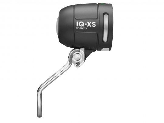 Da strahlt der Kleine: Der Tagfahrlicht-Scheinwerfer IQ-XS von Busch & Müller darf dank seiner speziellen Bauweise auch tagsüber kräftig leuchten. Gut für die Sichtbarkeit im Verkehr!