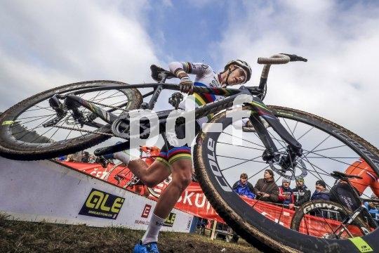 Cyclocross-Räder müssen nicht nur gut fahren, und das auch auf schwierigem Terrain und querfeldein, sie müssen sich auch gut tragen lassen. Hindernisse gehören bei diesem Sport dazu.