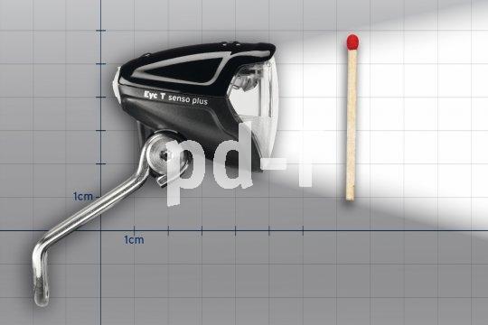 Trotz komapkter Bauform liefert dieser LED-Strahler eine enorme Lichtausbeute.