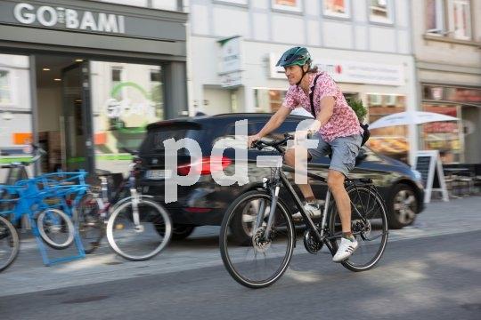 In der Stadt schnell und individuell unterwegs zu sein ist immer häufiger eine Aufgabe, die sich am besten mit dem Fahrrad lösen lässt.