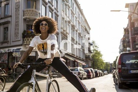 Leicht und schnell muss es sein, das coole Rad für die City. Dazu braucht es Bremsen von guter Qualität. Wenn es dann richtig passt (alles Einstellungssache!), ist ein ansteckendes Lächeln im Gesicht des Nutzers fast schon garantiert.