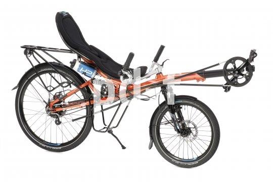 Liegeräder lassen sich einfach und schnell auf die Körpergröße des Fahrers einstellen.