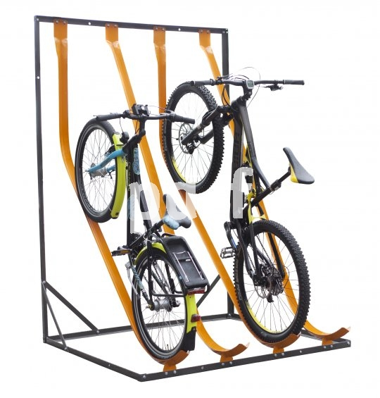 Raumsparende Abstellanlegen sind etwa vor Schulen oder Betrieben mit fahrradfreudiger Belegschaft gefragt.