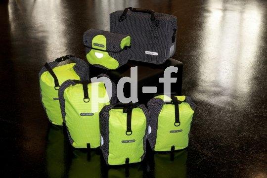 Beste Sichtbarkeit in der Dunkelheit gerantieren diese komplett reflektierenden Taschen. Ein gute Wahl für Reiseradler, die lange Tagesetappen mögen.