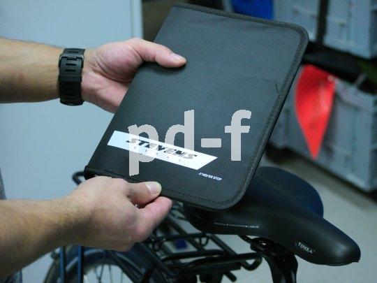 Die Gebrauchsanleitung wird von Firmen wie Stevens Bikes in edler Optik zum Rad geliefert.