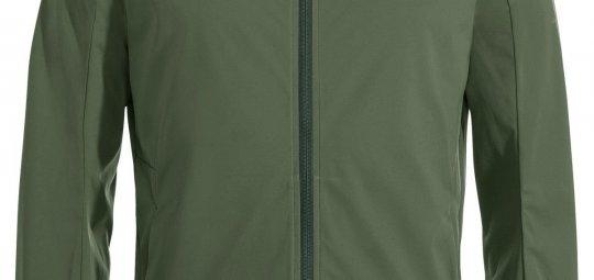 """Funktionale Jacke für Freizeitradler """"Men's Cyclist Softshell Jacket II"""" (140 Euro, Vaude, verfügbar ab Frühjahr 2021)"""