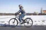 """Ein solides Fahrwerk und eine kräftige Antriebsunterstützung sind die Basis für ein E-Trekkingbike. Für zweifelhafte Straßenverhältnisse bietet das Flyer """"TX 7.70"""" noch entscheidend mehr: das weltweit erste ABS für E-Bikes."""