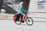 Auch Touren- und Reiseräder werden immer häufiger mit Elektroantrieb gekauft. Gerade bei umfangreichem Gepäck macht sich das schnell bezahlt.