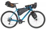 """Das Gravel-Bike """"Prestige"""" (1.799 Euro, Stevens, verfügbar) vereint Laufruhe und Komfort. Es ist dank Ösen für Schutzbleche und Gepäckträger für Einsätze im Alltag als auch abseits der Straße bestens gerüstet."""