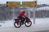 Wer im Winter von Oslo nach Trondheim radeln will, muss sich auf ungemütliche Wetterbedingungen einstellen und sollte entsprechend ausgerüstet sein.
