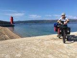 Andrea Freiermuth ist aktuell mit dem E-Bike von der Schweiz nach China unterwegs.