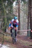 Das Fahren auf matschigem Waldboden gehört zu jedem Cyclocross-Rennen dazu.