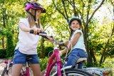 Auch Kinderräder entwickeln sich stetig weiter. Dieses Rad wiegt komplett ausgestattet nur gute 11 kg. Früher war nicht alles besser...