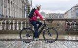 """Ein Stadtrad mit E-Unterstützung, aufrechter Sitzposition und Rücktrittbremse ist das """"Sinus iR8"""" von Hersteller Winora."""