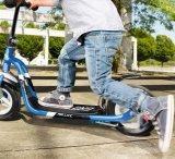 Der Roller eignet sich z. B. als Alternative für den Weg zur Schule