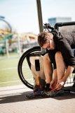 In einem großen Rucksack lassen sich die wichtigsten Fußballutensilien verstauen und so mit dem Rad zum Training fahren.