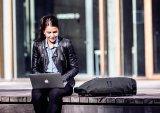 Ortliebs Commuter Daypack transportiert natürlich auch das Notebook, gut geschützt, versteht sich.