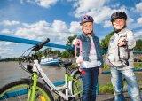 Zu lernen, Verantwortung für ihre Fahrräder zu übernehmen, gelingt Kindern besonders gut mit ihnen gemäßen Schlössern.